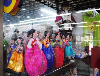 Korean dolls.