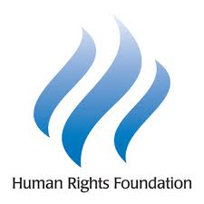 The Human Rights Foundation logo.