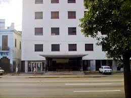 The Charles Chaplin Theater and building of the Cuban Film Institute (ICAIC).