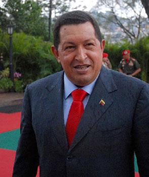 Hugo Chávez.  Photo: Caridad