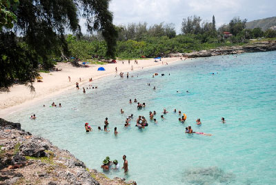 Jibacoa Beach, in today's province of Mayabeque.