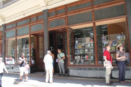 The Fayad Jamis bookstore in Havana.