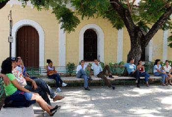 Park in Guantanamo, Cuba