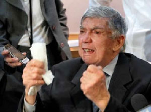 Confessed anti-Castro terroist Luis Posada Carriles lives happily in Miami.