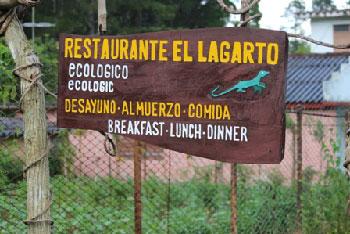 El restaurante El Lagarto.