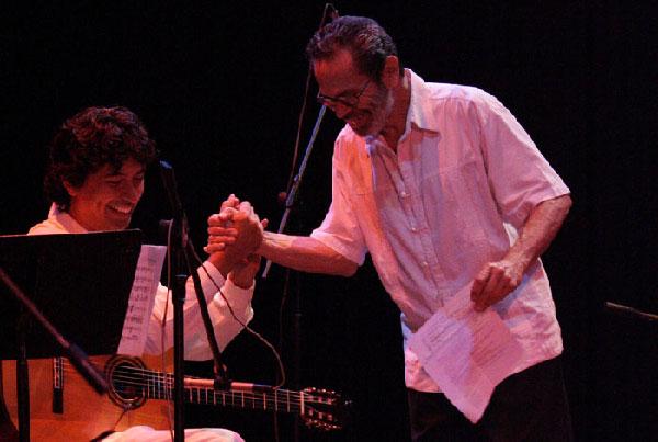 Josué Tacoronte and Leo Brower