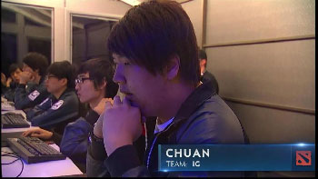 Chuan, one of the world's best players.
