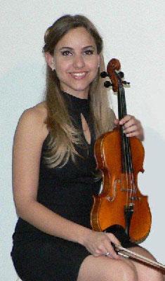 Cuban violinist Camila Martel
