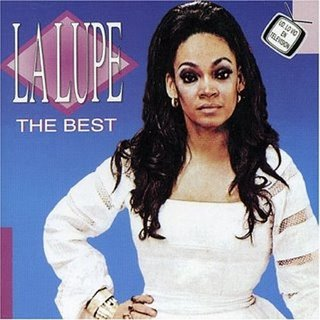 A best of La Lupe album cover.