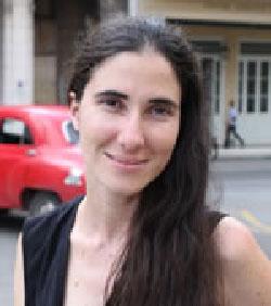 Yoani Sanchez from her blog Generación Y