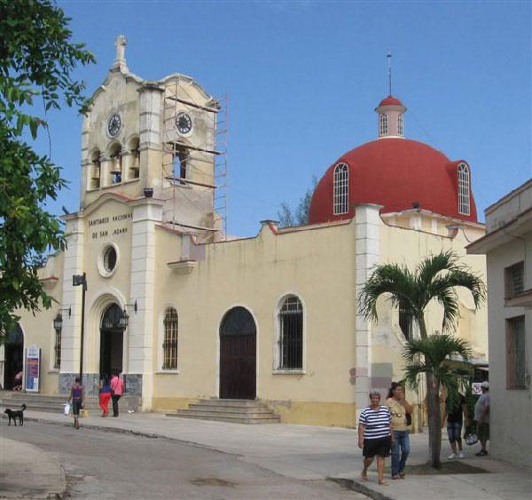 The El Rincón Saint Lazarus sanctuary.