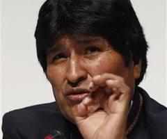 Bolivian President Evo Morales.  Photo: cubadebate.cu