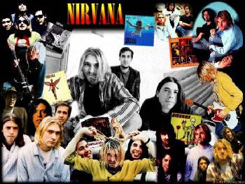 The rock group Nirvana.