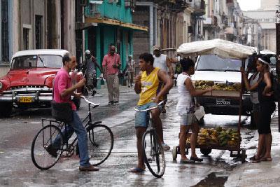 Havana's Galiano Street