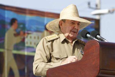 Raul Castro on July 26, 2013. Photo: escambray.cu