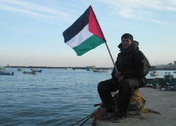 Gaza port.  Photo: Abdallah Abulaban.