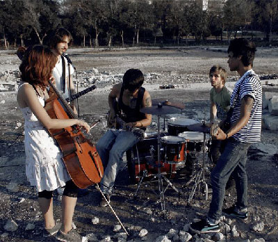 The Cuban rock band  Halley.