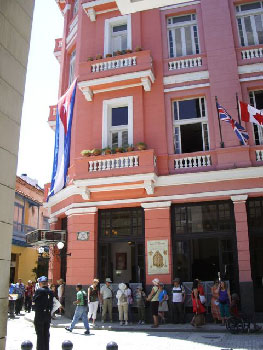 In Old Havana.
