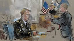Bradley Manning at his trial.