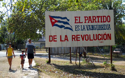 The Party is the vanguard of the revolution. Photo:  Caridad