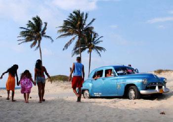 Havana Beach. photo: Caridad