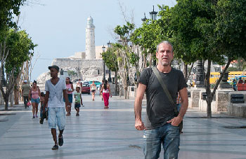 "Spanish actor Willy Toledo says that, in Havana, he has found ""one of the most beautiful cities in the world and by far the safest I have known."" (Photo: Raquel Perez)"