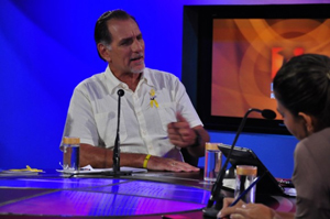 Rene Gonzalez on the Round Table TV program.