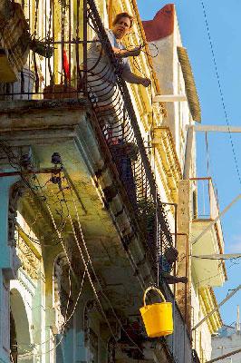 Typical Havana scene. Photo: Juan Suarez