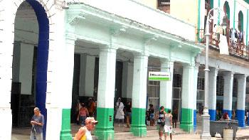 Bank on Galiano St.