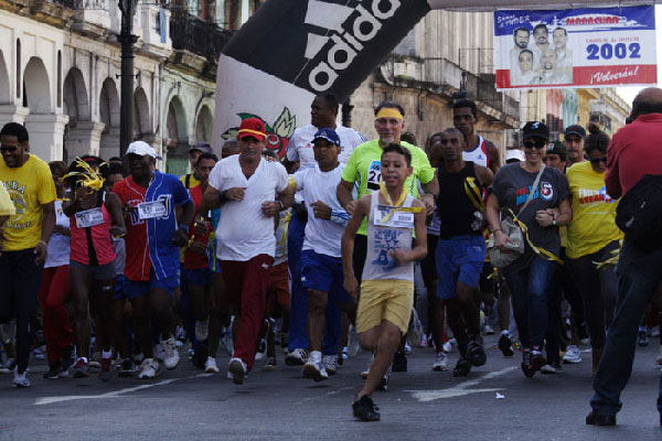 Five kilometers for the Cuban Five. 21--9-2013