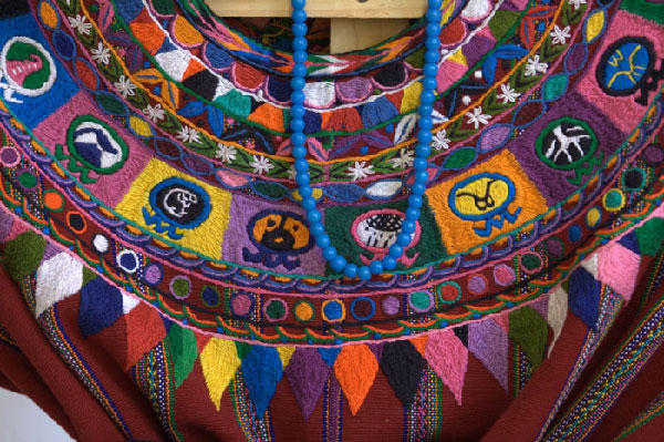 Mayan fabrics in Havana