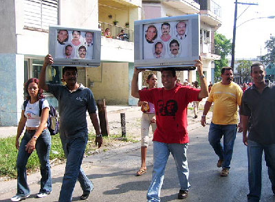 Carcasses' statements irritated some because they were voiced at a function calling for the release of the Cuban Five (Photo: Raquel Perez).