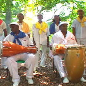 Yoruba Andabo during one of their performances.