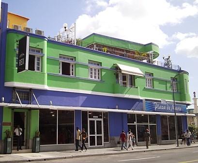 Hotel Rex in Santiago de Cuba.