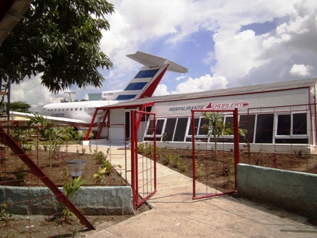 "The new ""Airport Restaurant"" in San Pedrito, Santiago de Cuba"