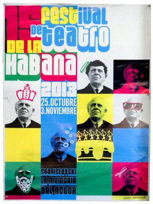 Havana Theater Festival poster.