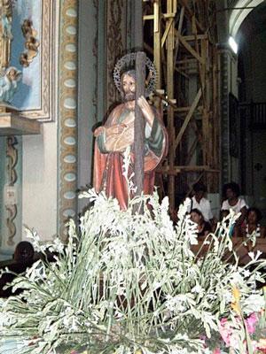 St. Jude Thaddeus at the Santiago de Cuba cathedral.