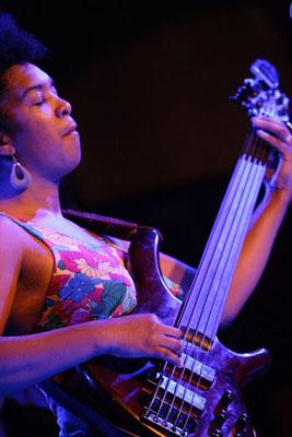 Yusa in concert at the Plaza Vieja in Old Havana.