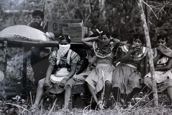Zapatista women.
