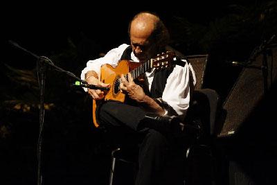 Paco de Lucia in concert in Havana, Cuba, Oct. 2, 2013.