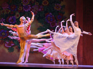 Shakespeare and His Masks, staged by Cuba's National Ballet Company