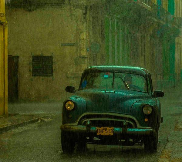 Rain in Centro Habana