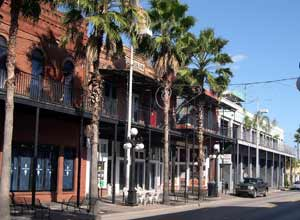 Ybor City, el distrito histórico de Tampa con fuertes lazos cubanos.
