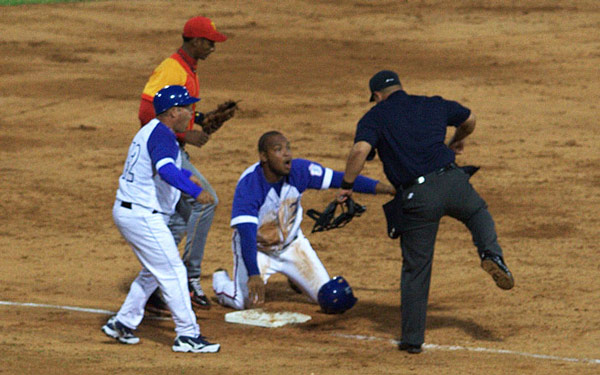 Cuban baseball.