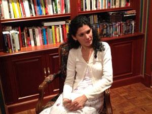 Sayli Navarro during a visit to Miami in November, 2013.