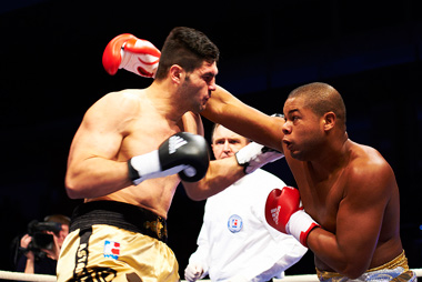 Cuban boxers in a recent World Series match in Havana.