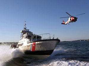 US Coast Guard in action.