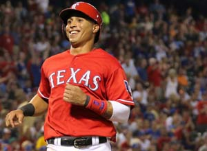 Texas Rangers player Leonys Martin involved in legal proceedings in Miami.