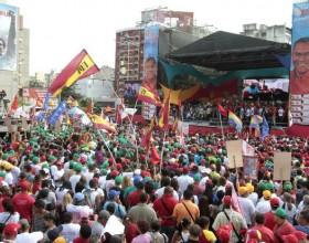 Caracas as the election campaign ends. Foto: agenciapulsar.org