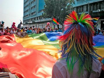 Anti homofobia activity in 2012. Foto: Jimmy Roque Martinez